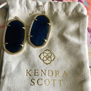 Navy Blue Kendra Scott Earrings